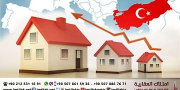 زيادة مبيعات عقارات تركيا للاجانب الشهر الماضي