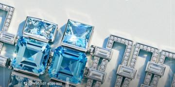 L'ouverture d'Exposition d'Istanbul pour les bijoux, montres et pierres précieuses