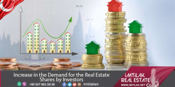 Real Estate shares increased by investors