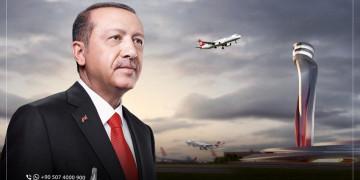 """Erdogan : """"le nouvel aéroport d'Istanbul"""" est un sujet de fierté pour la Turquie et un acquis pour le monde"""