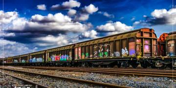 قطار الشحن الصيني يعبر نفق مرمراي في تركيا