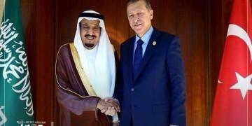 الملك سلمان بن عبد العزيز آل سعود يشكر الرئيس التركي رجب طيب أردوغان