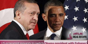 US economist requests to switch Obama president with Erdogan!