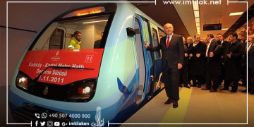 The New Metro Projects Continue to Progress in Istanbul