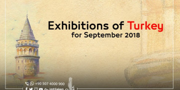 Exhibitions of Turkey for September 2018