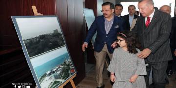 أردوغان يعلن عن افتتاح جزيرة الديموقراطية والحرية أواخر 2019