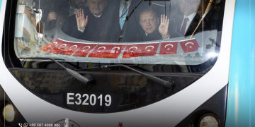 In the Presence Of Erdogan: The Opening of the New Metro Line in Istanbul