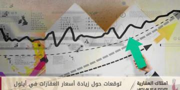 توقعات حول زيادة أسعار العقارات في أيلول