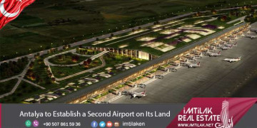 Antalya to Establish a Second Airport on Its Land