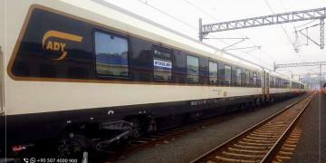 أوّل قطار دوليّ يستخدم خط غبزة – هالكالي في إسطنبول