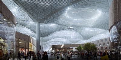 Numbers and Distances at the New Istanbul Airport