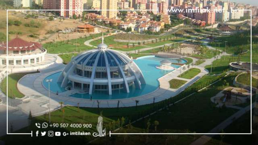 Double the Size of Taksim Square: A Large Central Square in the Famous Basaksehir in Istanbul