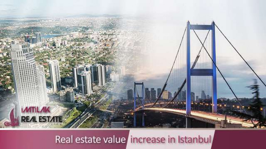Real estate value increase in Istanbul