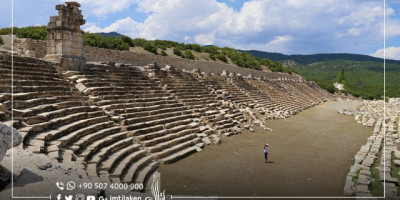 The ancient city of Kibyra in Turkey... The Destination of ancient wrestlers