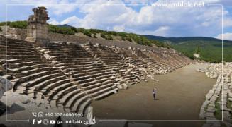 مدينة كيبايرا الأثرية في تركيا.. قبلة المصارعين القدماء