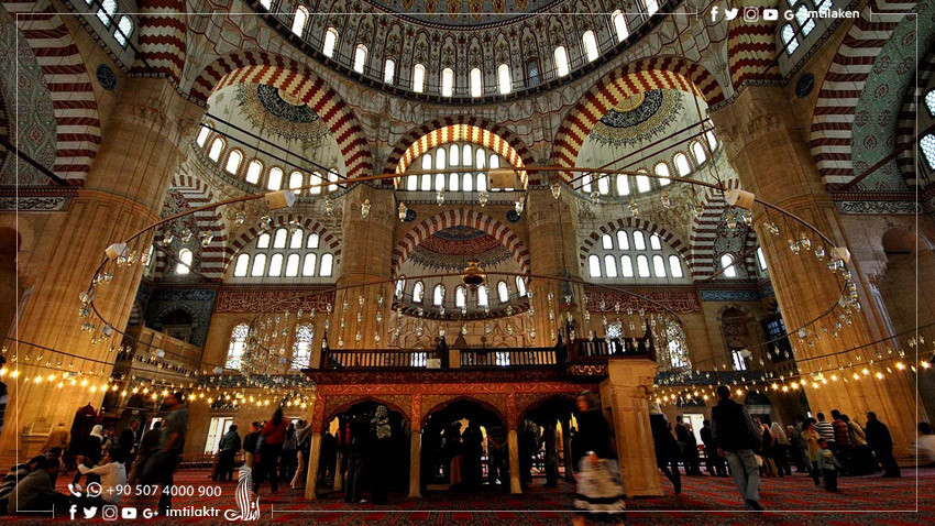 Selimiye Mosque in Edirne: An Exquisite Masterpiece of the Most Beautiful Ruins of the Ottoman Era in Turkey