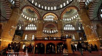 جامع السليمية في أدرنة: تحفة بديعة من أجمل آثار العهد العثماني في تركيا