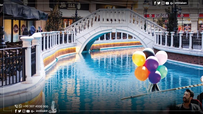"""مول و مجمع فينيسيا اسطنبول: عندما تنتقل """"البندقية"""" من إيطاليا إلى تركيا"""