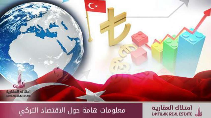 معلومات هامة حول الاقتصاد التركي
