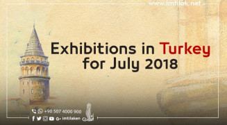 Exhibitions in Turkey for July 2018