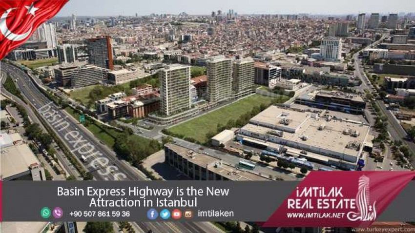 Basin Express Highway Is the New Attraction in Istanbul