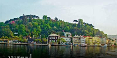 Sarıyer District in Istanbul: The Sea Is in Junction with the Mountain