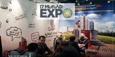 Imtilak Immobilier participe à la Foire de Musiad Expo17 à Istanbul