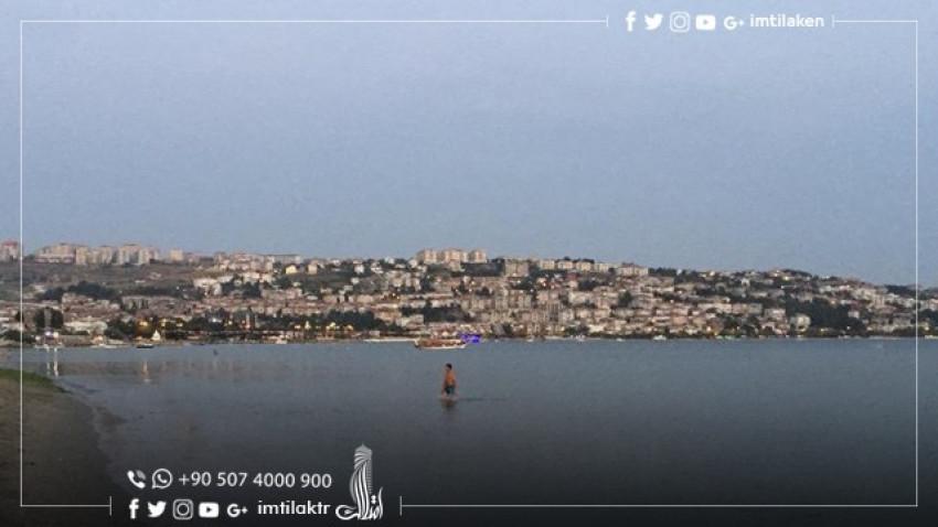 Buyukcekmece Coastal Area in Istanbul
