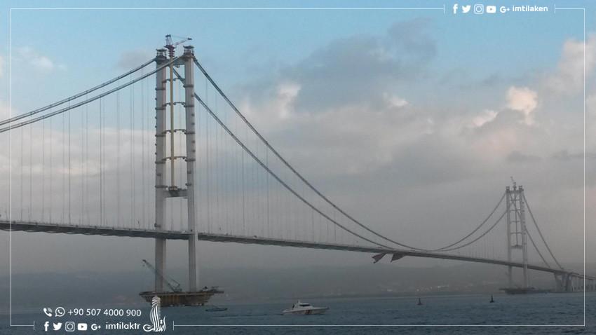 Pont Osman Gazi : Le quatrième plus long pont suspendu au monde