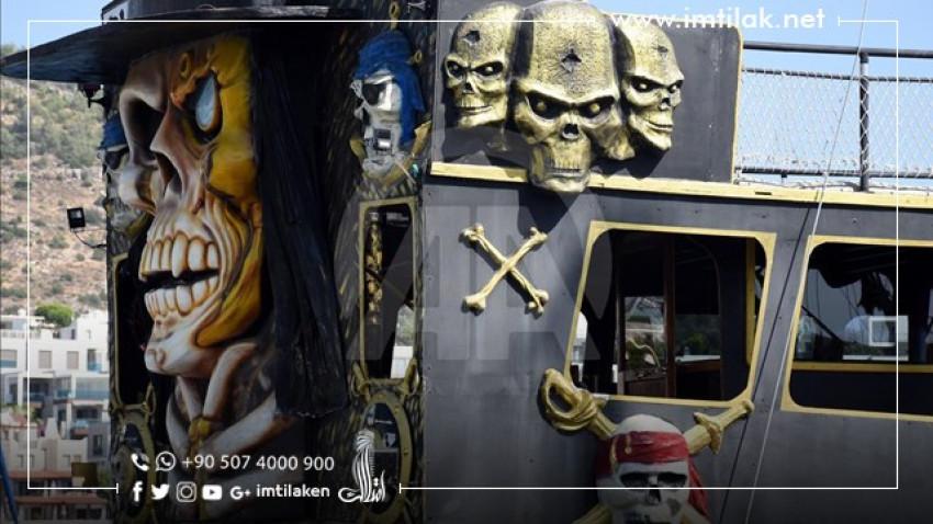 Bodrum the Turkish city... Pirate Ships Amaze Tourists