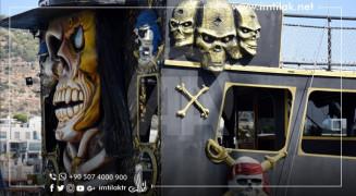 بودروم التركية.. سفن القراصنة تخطف قلوب السياح