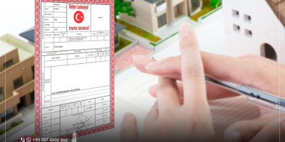 What is the difference between complete title deed and temporary title deed?