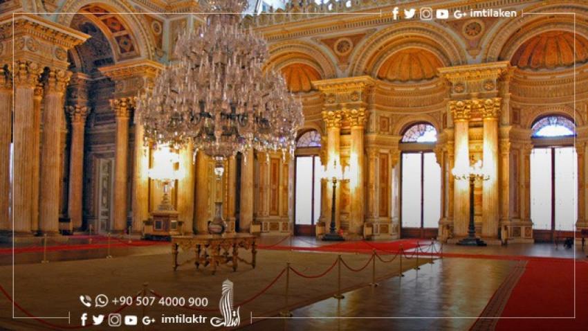قصر دولمه باهجه في إسطنبول