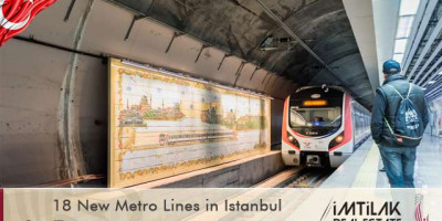 18 New Metro Lines in Istanbul
