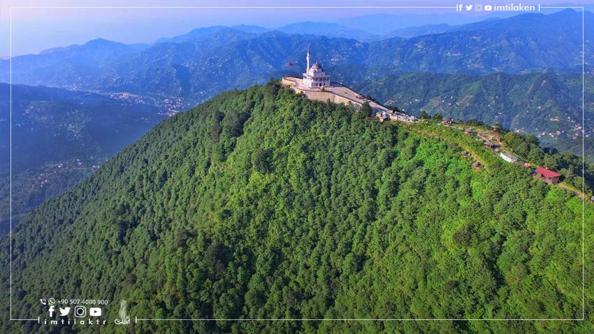 Qibla Mountain Mosque: A Bright Star in the Sky of Turkish Rize