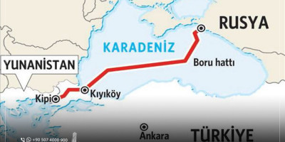 مشروع غاز السيل التركي: أهم تجليات الشراكة الاقتصادية بين تركيا وروسيا