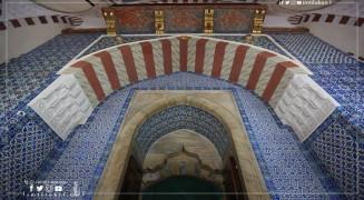 جامع رستم باشا في اسطنبول: تجلّيات فنّ الزخرفة الإسلاميّة