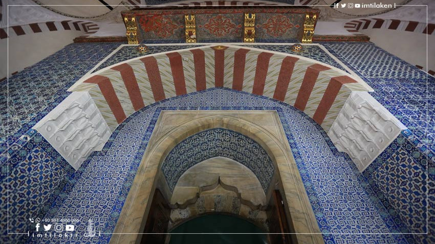 Rustem Pasha Mosque in Istanbul: The Manifestations of the Islamic Decoration