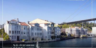 منازل إسطنبول المطلة على البحر أسعارها الأعلى