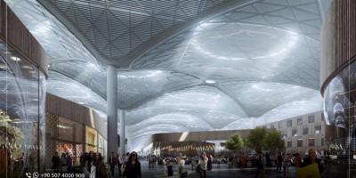 Le nouvel aéroport d'Istanbul : Chiffres  et Distances