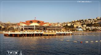 La magnifique plage de Buyukcekmece à Istanbul