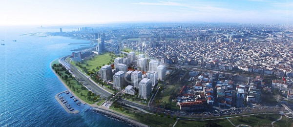 Apartments For Sale In Istanbul Turkey -  IMT-153 Marmara Port Project