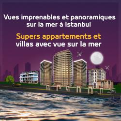 مشاريع باطلالة بحرية في اسطنبول فرنسي