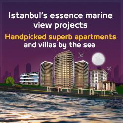 مشاريع باطلالة بحرية في اسطنبول انجليزي