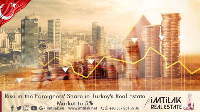Rise in the Foreigners' Share in Turkey's Real Estate Market to 5%