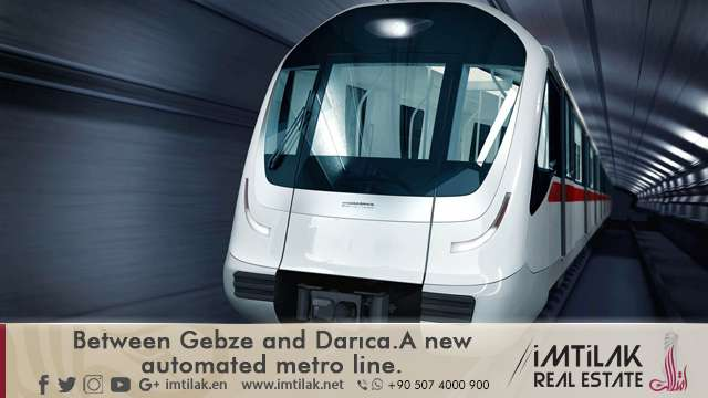 Between Gebze and Darıca... A New Automated Metro Line in Turkey