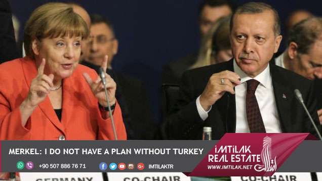 Merkel I do not have a plan without Turkey