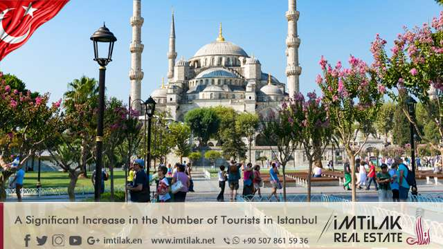 A Significant Increase in the Number of Tourists in Istanbul