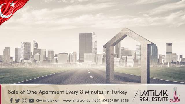 Sales of One Apartment Every 3 Minutes in Turkey!
