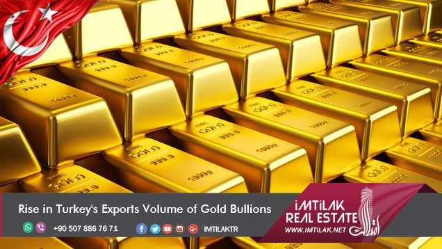Rise in Turkey's Exports Volume of Gold Bullions || Imtilak Real Estate